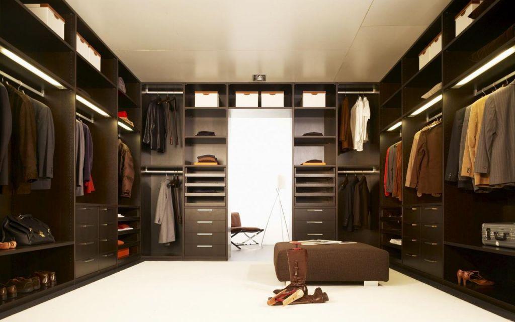 Гардеробная комната (32 фото).